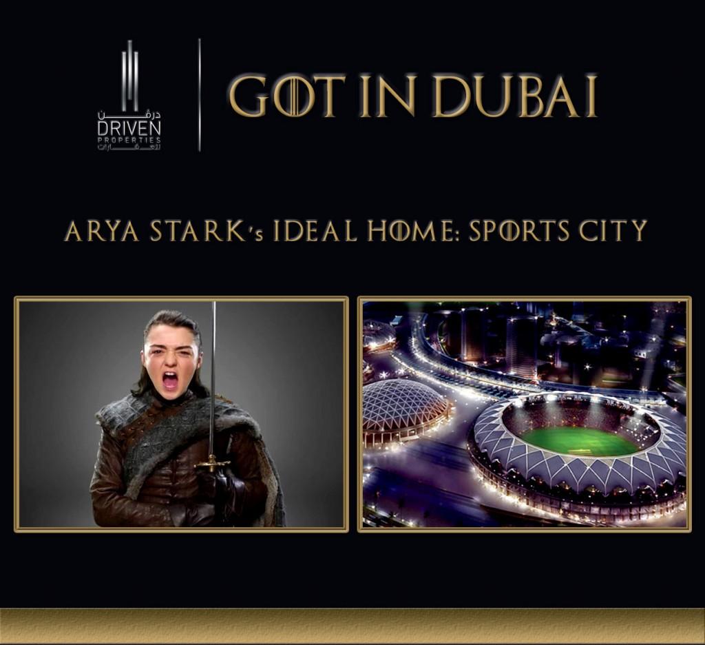 GOT-Arya Dubai