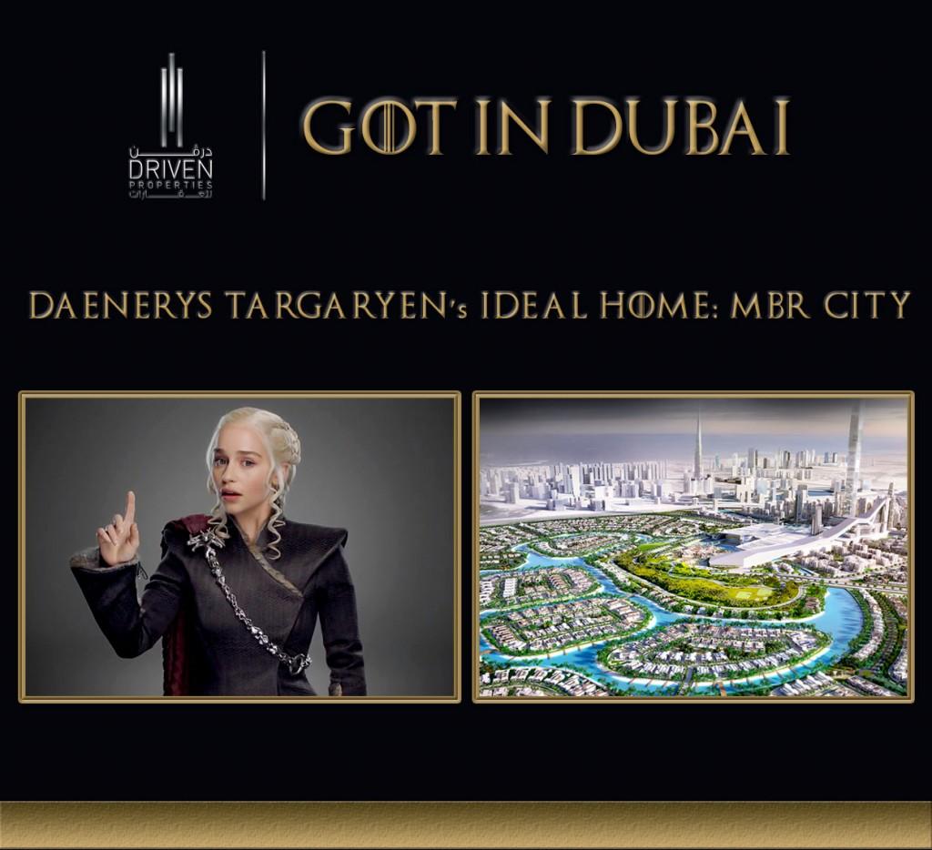GOT-Daenerys Dubai