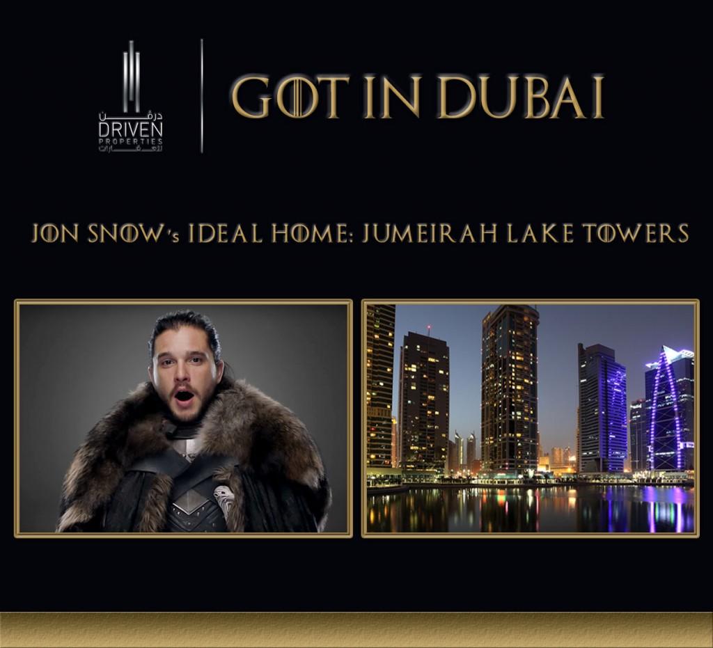 GOT-Jon Snow Dubai