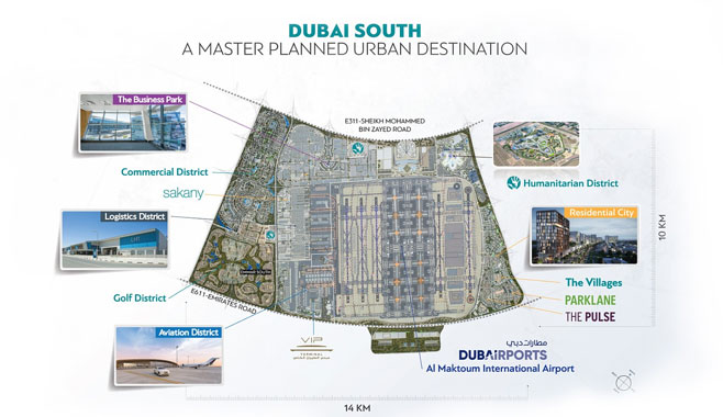 Why is Dubai South the most economical place to buy a new home?