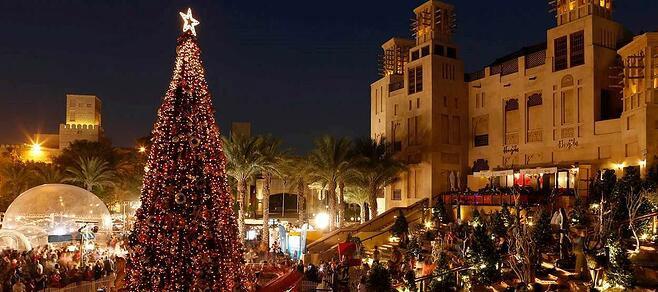 Best Dubai Areas To Celebrate Christmas
